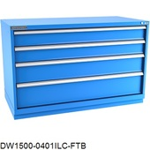 Champion Bench-Height Double-Wide Drawer Cabinets