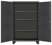 Durham 12 Gauge Cabinets with 0 Drawers, 3 Shelves & Pegboard Doors
