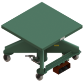 "Lange-Lift 36"" x 36"" Electric Powered Lift Tables"