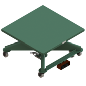 "Lange-Lift 48"" x 48"" Electric Powered Lift Tables"