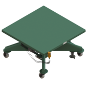 "Lange-Lift 48"" x 48"" Battery Powered Lift Tables"