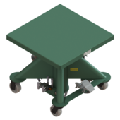 "Lange-Lift 30"" x 30"" Air Powered Lift Tables"