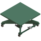 "Lange-Lift 48"" x 48"" Air Powered Lift Tables"