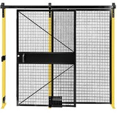 Folding Guard Saf-T-Fence® Machine Perimeter Guard