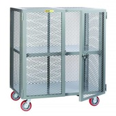 Little Giant Mobile Storage Locker With Adjustable Shelf