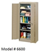 Edsal Double Door Storage Cabinet (6600TN)