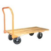 Nutting 24 x 48 Wood Deck Platform Trucks