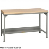 Little Giant Butcher Block Topped Workbenches