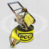 "PCC 4"" Wide Ratchet Strap Assemblies"