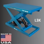 Bishamon Optimus LF Series Scissor Lift Tables