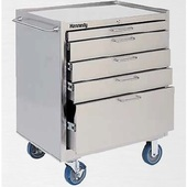 Kennedy Stainless Steel Cleanroom Rolling Cabinets