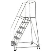 "Cotterman 26"" Wide Aluminum Safety Ladders"
