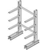 Meco Medium Duty Cantilever Rack Uprights