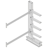 Meco Heavy Duty Cantilever Rack Add-on Units