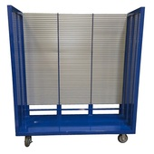 Febco Slatwall Parts Cart
