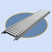 "Roll-A-Way 1-3/8"" Aluminum Roller Conveyors"