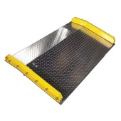 B&P Steel Curb Dock Boards