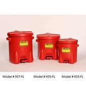 Eagle Poly Waste Cans (933-FL 935-FL 937-FL)