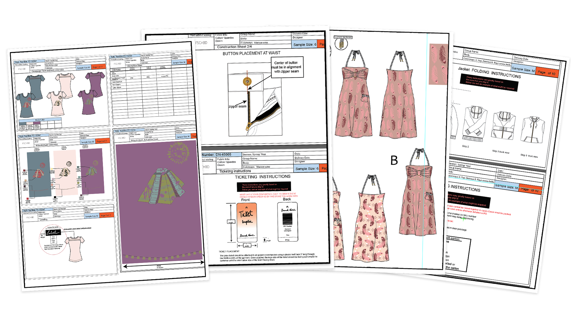 FashionTech Packs with Adobe Illustrator for Fashion Design online