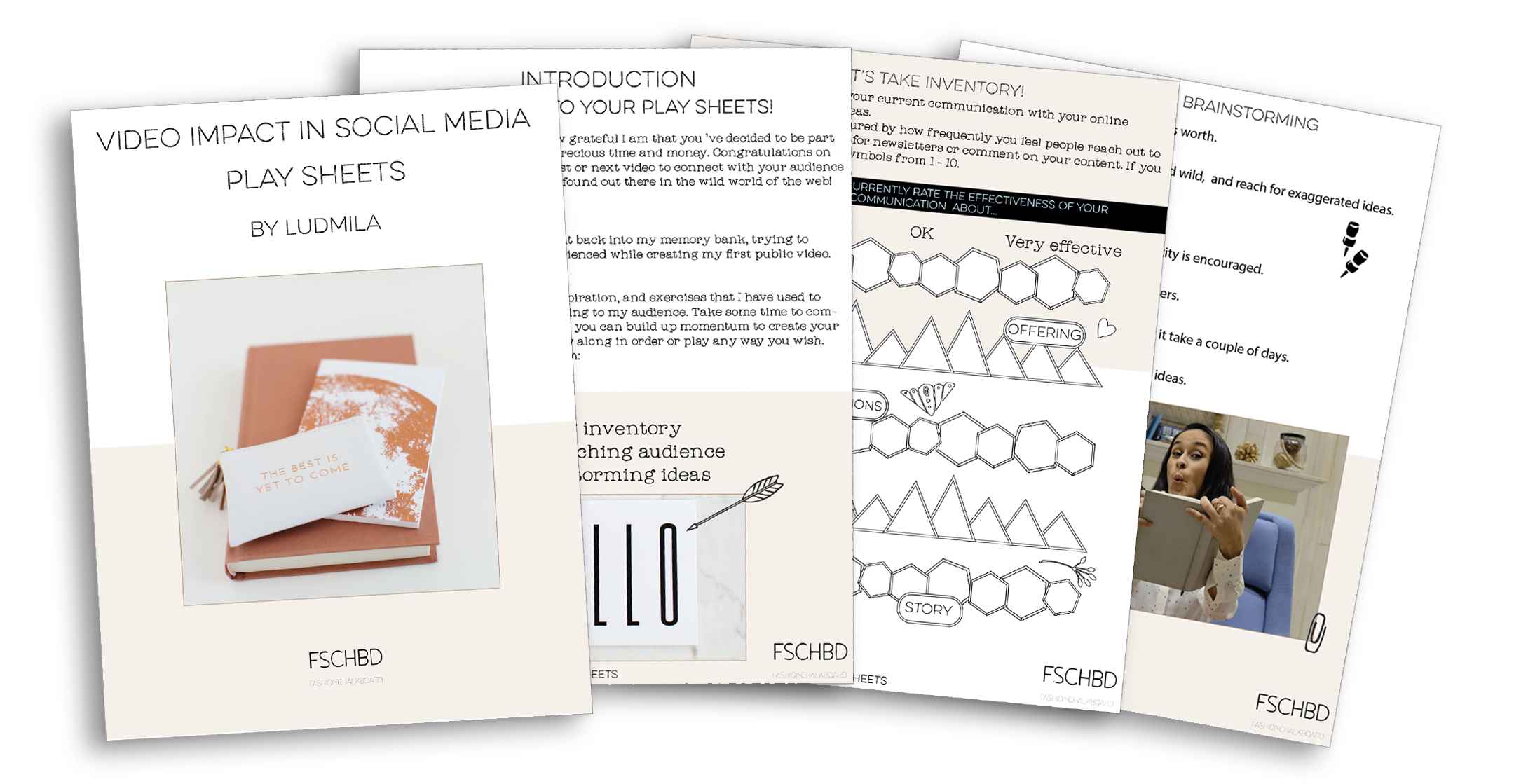 why you need video in social media worksheets and motivation