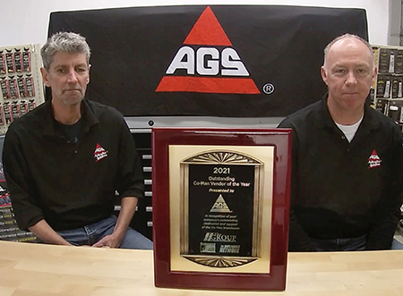 AGS, GMB Earn Co-Man Vendors of the Year Honors