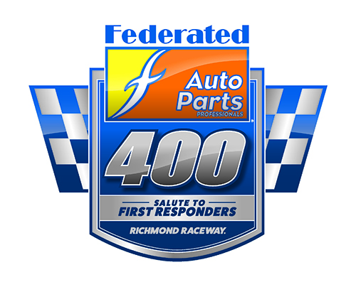 Federated Auto Parts 400 Salute to First Responders logo