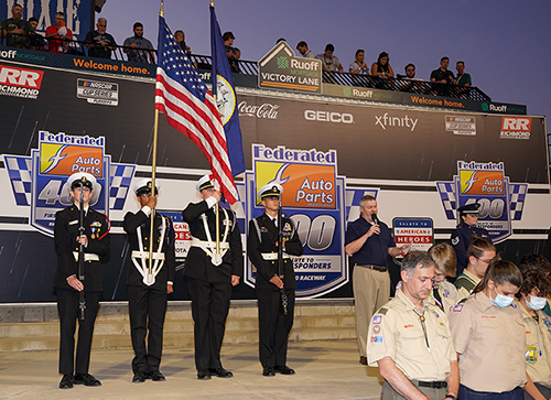 Federated Auto Parts Honors First Responders During NASCAR Race in Richmond