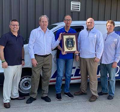Lafayette Warehouse in Lafayette, Indiana was honored as the Federated Co-Man Member of the Year