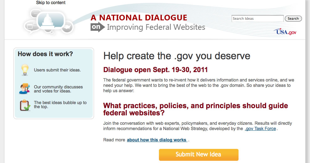 2011_09_NationalDialogueonImprovingFederalWebsites