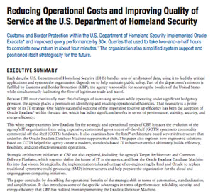 White Paper: Reducing Operational Costs and Improving