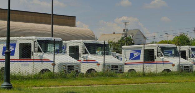 USPS-trucks