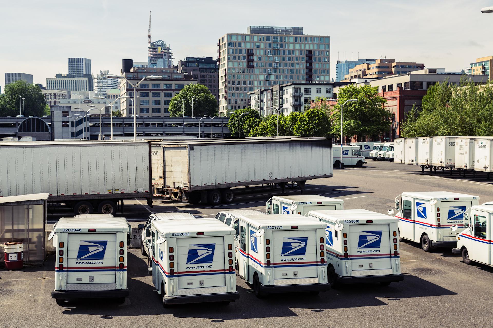 The Postal Service is working toward autonomous mail