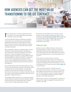 FedScoop report on federal EIS contract