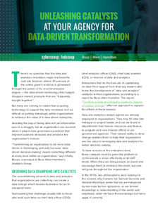 FedScoop report on data-driven IT modernization