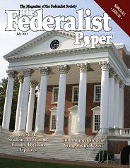 The Federalist Paper, July 2011