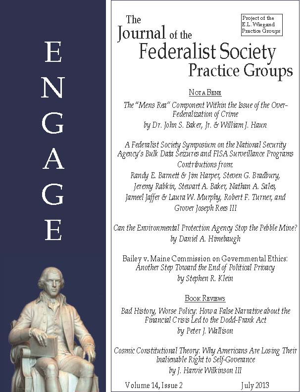 Engage Volume 14, Issue 2 July 2013