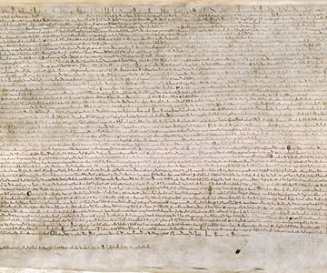 Magna Carta: Muse and Mentor : Events : The Federalist Society