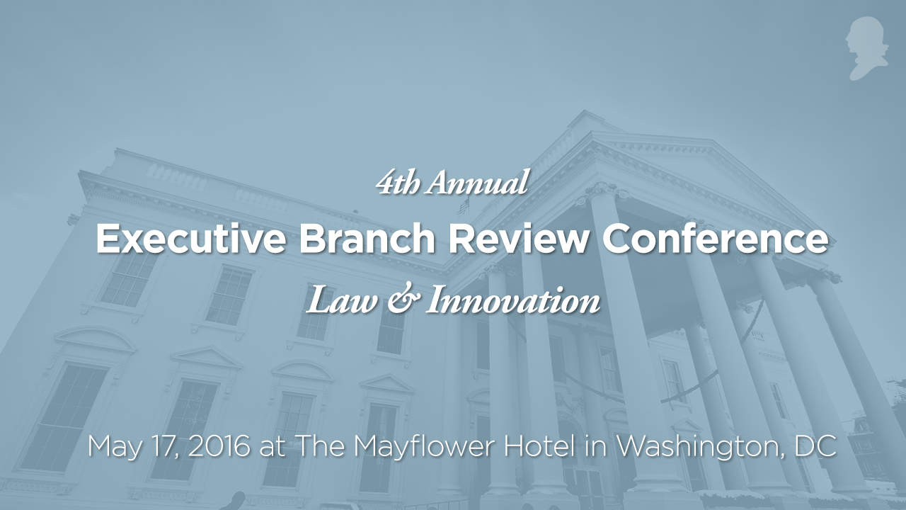 2016 Executive Branch Review Conference