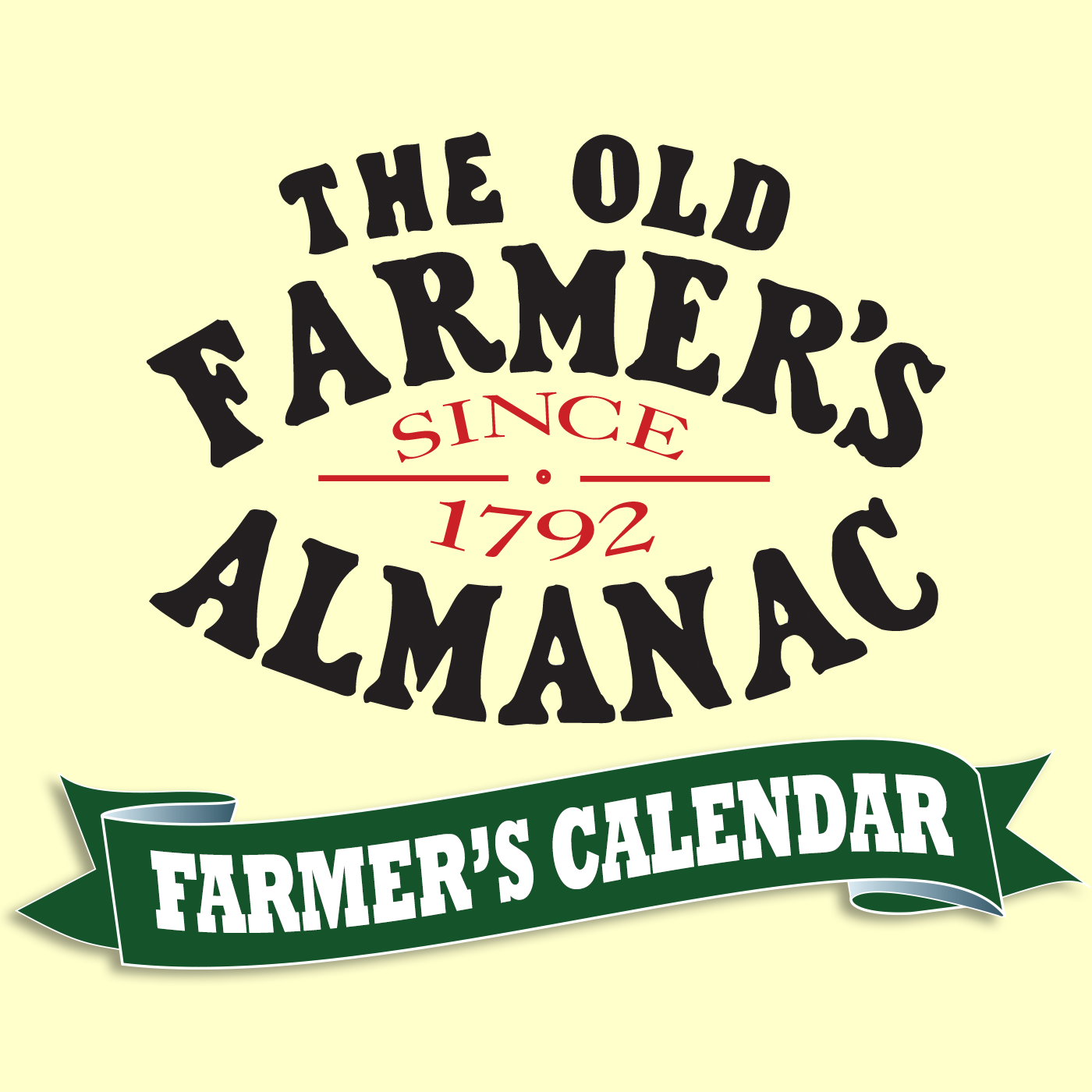 The Old Farmer's Almanac Farmers Calendar