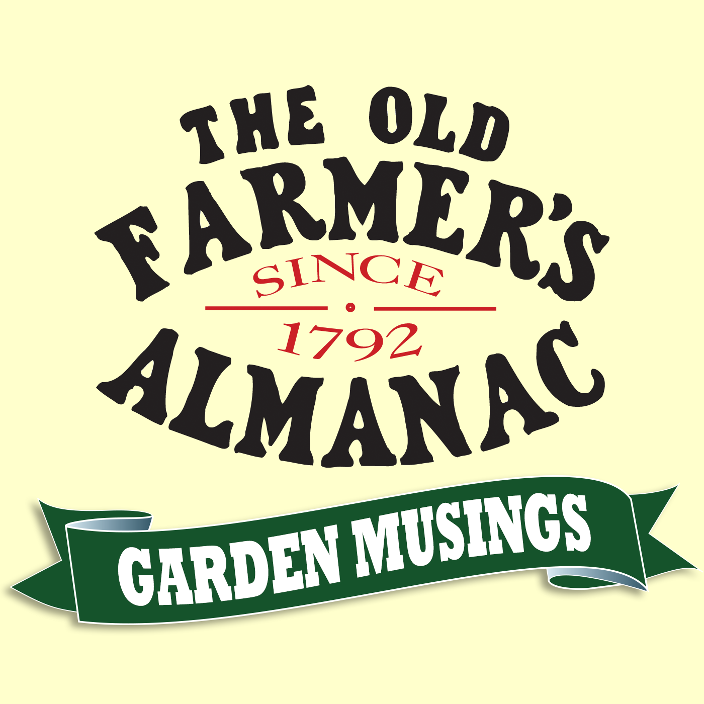 The Old Farmer's Almanac Garden Musings