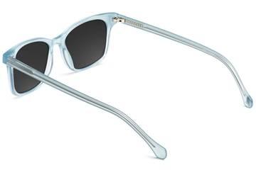 Hopper sunglasses in seneca mist viewed from rear