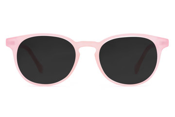 Roebling sunglasses in rose mallow viewed from front