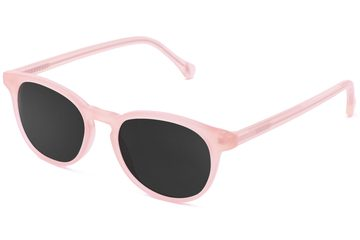 Roebling sunglasses in rose mallow viewed from angle