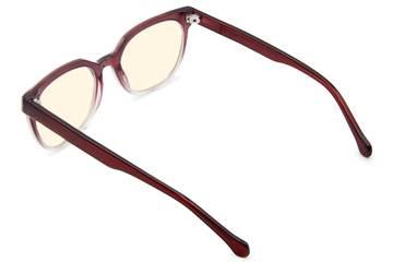 Kelvin sleepglasses in gamay fade viewed from rear