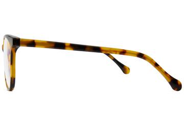 Lovelace eyeglasses in serengeti viewed from side