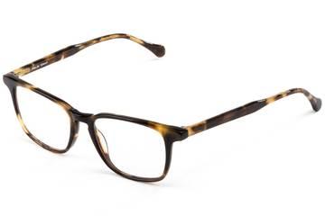 Nash LBF eyeglasses in whiskey tortoise viewed from angle
