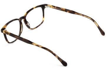 Nash LBF eyeglasses in whiskey tortoise viewed from rear