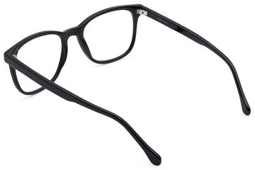 Volta eyeglasses in black viewed from rear
