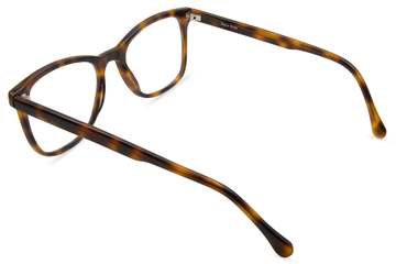 Volta eyeglasses in sazerac viewed from rear