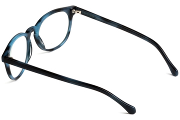 Roebling eyeglasses in midnight surf viewed from angle